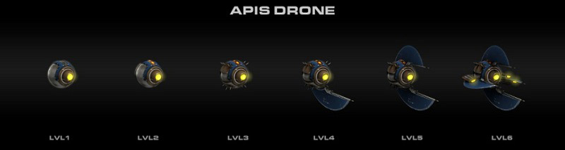 9ème drone pirate apis