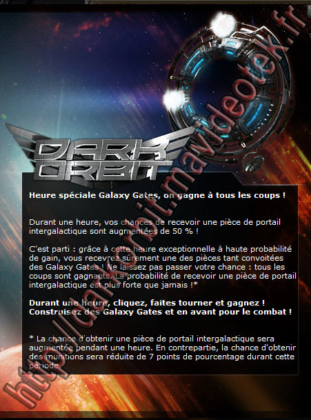evenement darkorbit galaxy gate piece de portail
