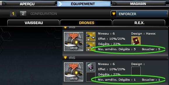 comment reparer drones darkorbit