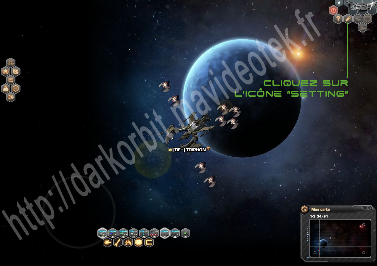 regler resolution fenetre de jeux darkorbit